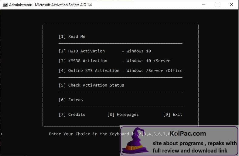 Microsoft Activation Scripts download