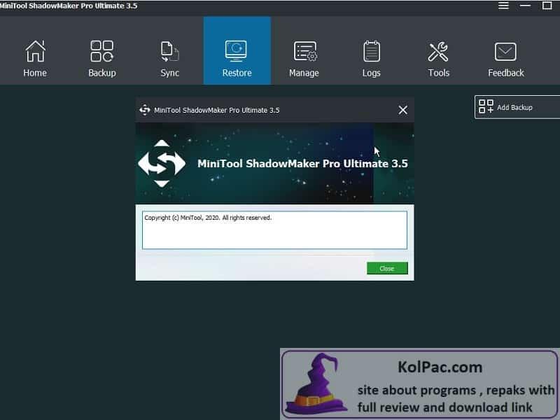 MiniTool ShadowMaker Download
