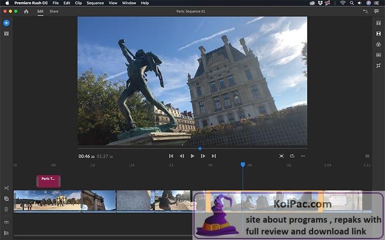 Adobe Premiere Rush download