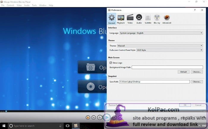 Macgo Windows Blu-ray Player download