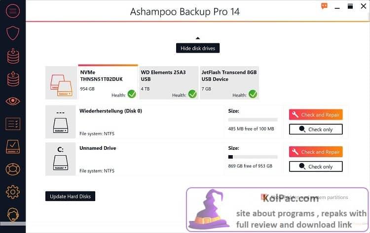 Ashampoo Backup Pro download