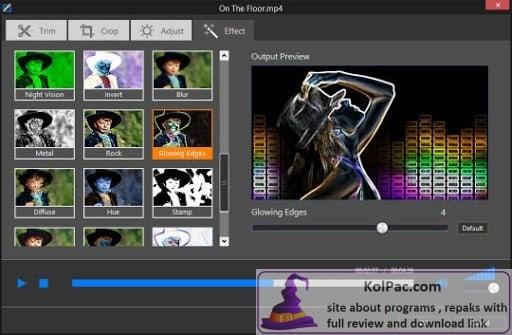 Program4Pc Video Converter Pro settings