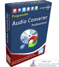 Program4Pc Audio Converter Pro