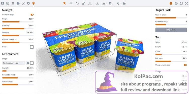 Appsforlife Boxshot settings