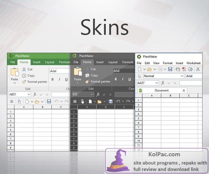 Ashampoo Office skins