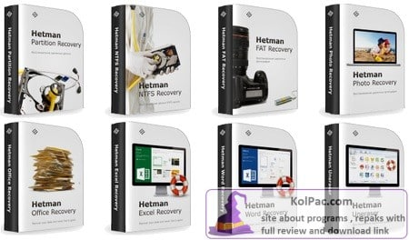 Hetman Data Recovery Pack vertions