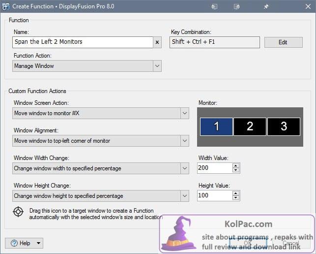 DisplayFusion Pro download Key