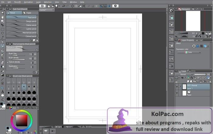 Clip Studio Paint EX settingd