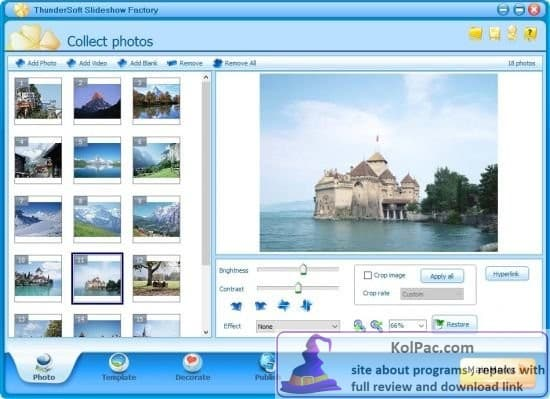 ThunderSoft Slideshow Factory download