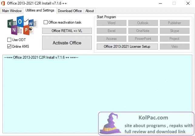 Download Office 2013-2021